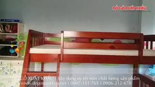 Giường tầng gỗ đẹp giá rẻ tại TPHCM - Giường tầng rẻ và đẹp HAPPY