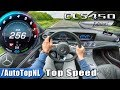 Mercedes Benz CLS 450 4Matic TOP SPEED on AUTOBAHN POV by AutoTopNL