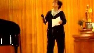 寶覺中學校慶日_羅志玲師姐獻唱『憑著愛』