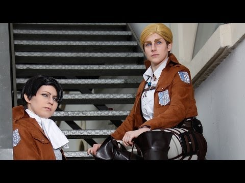 Levi und Erwin Smith - Shingeki no Kyojin | DCM Vorentscheid Animuc 2014
