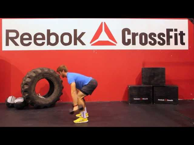 "Reebok CrossFit ONE Movement Demo ""Man Maker"""