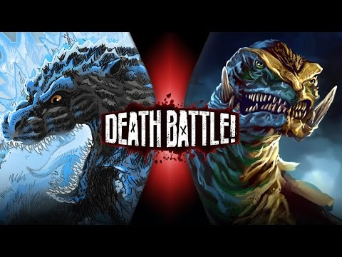 Godzilla Vs Gamera | Death Battle! | Screwattack video