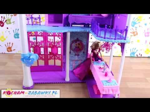 Castle Playset / Kryształowy Pałac - Barbie Mariposa and The Fairy Princess - Mattel - Y6383