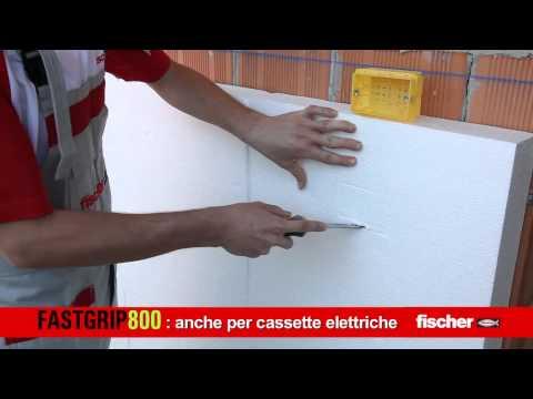 Adesivo per pannello isolante fischer fastgrip 800 for Pannelli polistirolo bricoman
