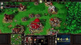 Chaemiko(HU) vs XiaoKK(ORC) - WarCraft 3 Frozen Throne - RN3915