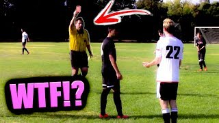 CRAZY FIST FIGHT DURING GAME !! | IRL CLUB FOOTBALL / SOCCER HIGHLIGHTS (ep1. s.1)