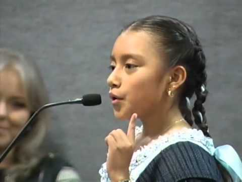 Discurso de niña indígena en la CEE NL Natalia López López Versión Completa