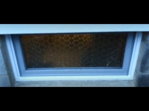 How to Upgrade Basement Windows - $50 Home Depot
