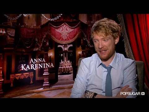 Domhnall Gleeson on His Anna Karenina Character: