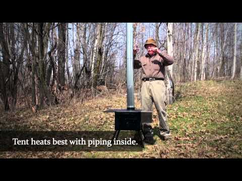 How to Quickly Set Up & Assemble Your Four Dog Tent Stove