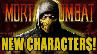 New Mortal Kombat Characters Getting Introduced