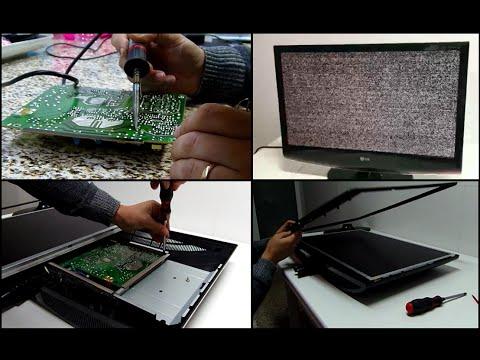 LCD TV LG Flatron M2762D PC - No Power No Image - Não liga / Sem imagem