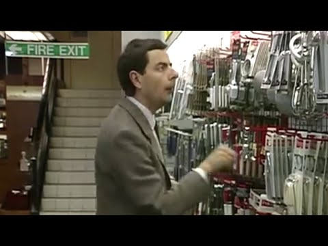Mr Bean - Shopping For Kitchen Goods video