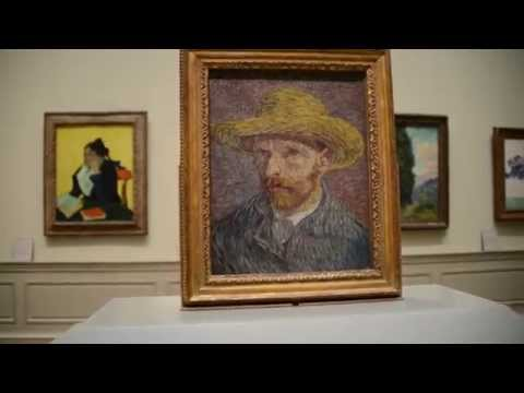 New York City Metropolitan Museum Of Art - Vincent van Gogh Paintings