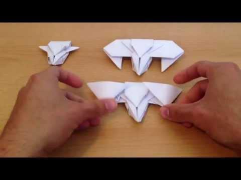 Origami c mo hacer una nave espacial figuras de papel for Como hacer una pileta de material paso a paso