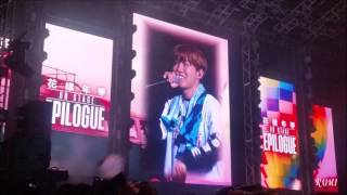 160618 BTS 花樣年華 on stage Epilogue in MACAU 마지막 인사
