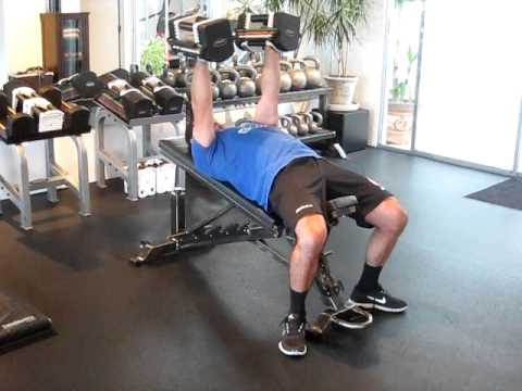 Dumbbell Fly/Squeeze Press Combination Chest Exercise