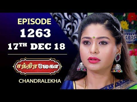 CHANDRALEKHA Serial | Episode 1263 | 17th Dec 2018 | Shwetha | Dhanush | Saregama TVShows Tamil