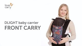 Как носить в эрго-рюкзаке DLIGHT/ Front carry in Love & Carry DLIGHT baby carrier