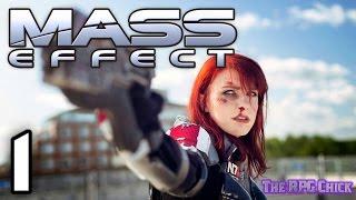 Let's Play Mass Effect (Blind), Part 1: Meet Commander Brittany Shepard
