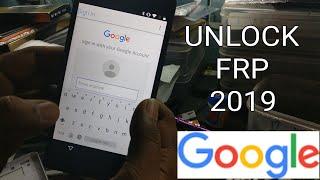 Google FRP Unlocking 2019