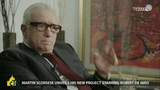 Martin Scorsese unveils his new project starring Robert De Niro
