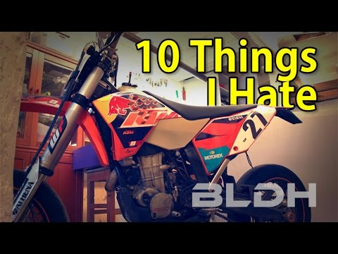 10 Things I Hate about my KTM 530 EXC   BLDH