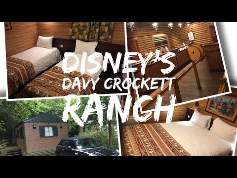 Disney's Davy Crockett Ranch - Disneyland Paris - Pioneer Cabin tour and hotel Tour - 2017