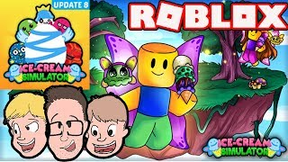 Ice Cream Simulator Update 8 Codes & Gameplay | Roblox Family Friendly Live Stream 2018