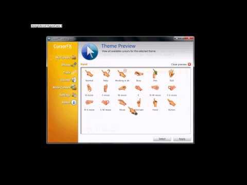 JAMASTER - การใช้โปรแกรม CursorFX Control Panel