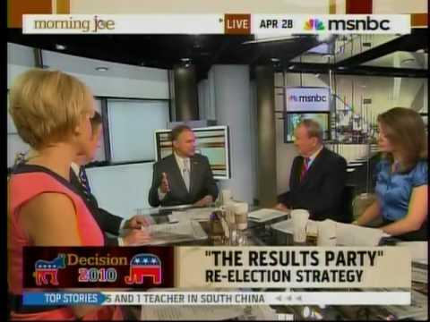 Gov. Tim Kaine Discusses Vote 2010 on Morning Joe