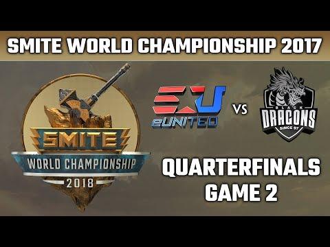 SMITE World Championship 2018: Quarterfinals - eUnited vs. Black Dragons (Game 2)