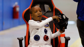TRICK 3D Grants Zayden's Wish: First VR Wish Sends Boy to Saturn
