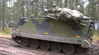 Manöver Det Danske Forsvar Dänische Streitkräfte Übungsplatz Oksbol Blavand 2003 Teil 4