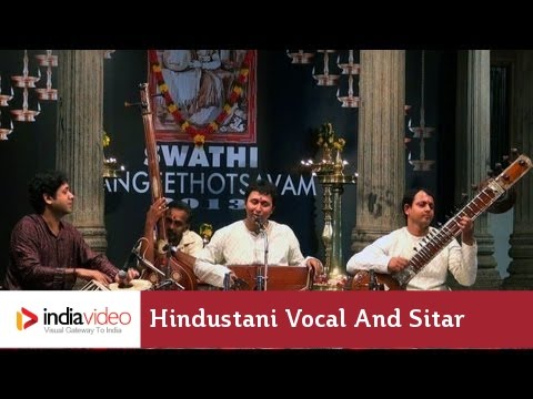 Hindustani music at Swathi Music Festival, 2013