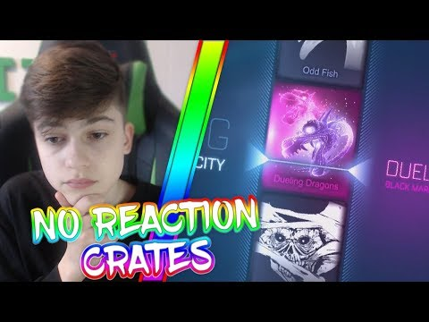 NO REACTION VELOCITY CRATE OPENING | CRATE OPENING | Rocket League