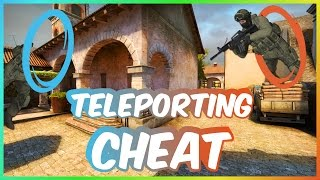 TELEPORTING CHEATS!? | A CS:GO Glitch Experience