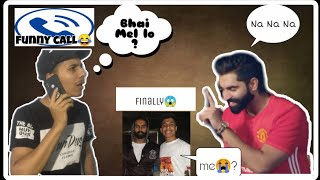 When parmish's fan talk to parmish verma😍|| Na Na NA♥️ ||funny video😂||Trailer || thedesi vlogs