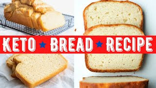 Keto Bread Recipe | Simple To Make | Only 1 Carb Per Slice
