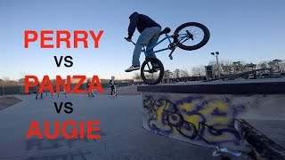 Game of BIKE: Billy Perry VS Austin Augie VS Anthony Panza (BMX)