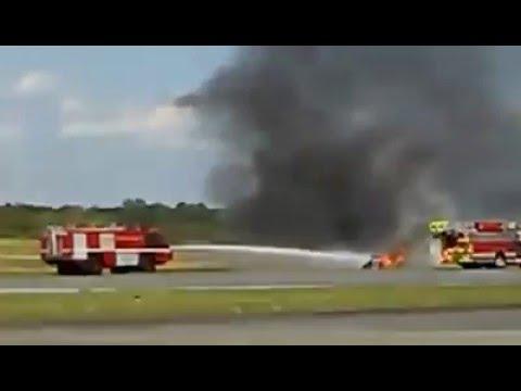 RAW: Plane crash at DeKalb-Peachtree Airport air show near Atlanta