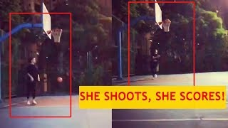She shoots, she scores! Deepika Padukone flaunts her skills in the basketball court