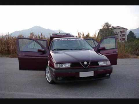 Alfa Romeo 155 Tuning Pics Youtube