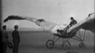 උඩින් යන්න වින්ද දුකක් ...... Early Flight (b&w, silent, 16mm) Vintage Films