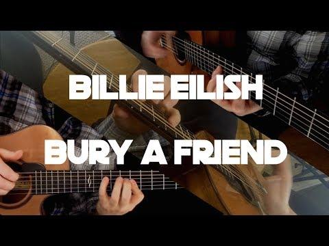 Kelly Valleau - bury a friend (Billie Eilish) - Fingerstyle Guitar
