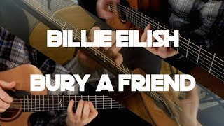 Kelly Valleau - bury a friend (Billie Eilish) - Fingerstyle Guitar