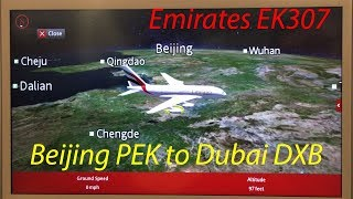 TRIP REPORT| Emirates Airbus A380-800, Beijing to Dubai, September 2018
