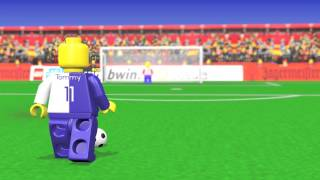 Lego Soccer Animation / Fußball Animation ( Blender )