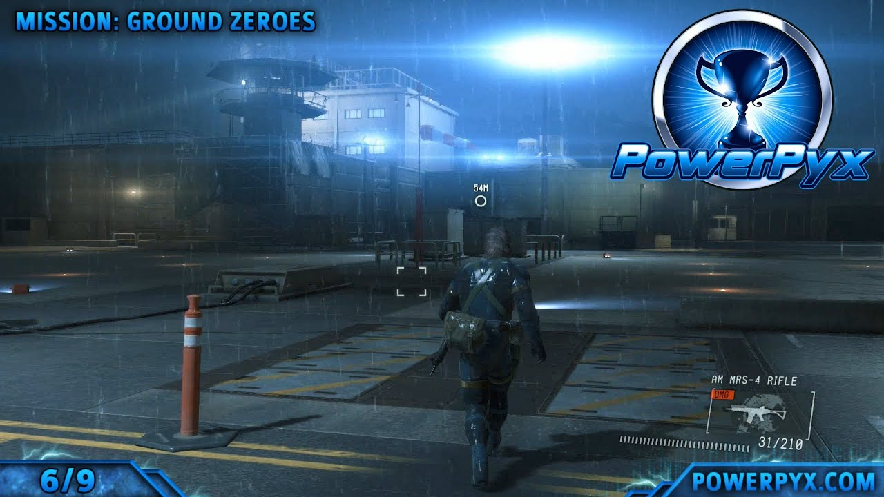 Metal Gear Solid 5: Ground Zeroes XOF Patch locations guide