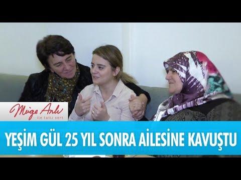 Yeşim Gül 25 yıl sonra ailesine kavuştu - Müge Anlı İle Tatlı Sert  21 Kasım